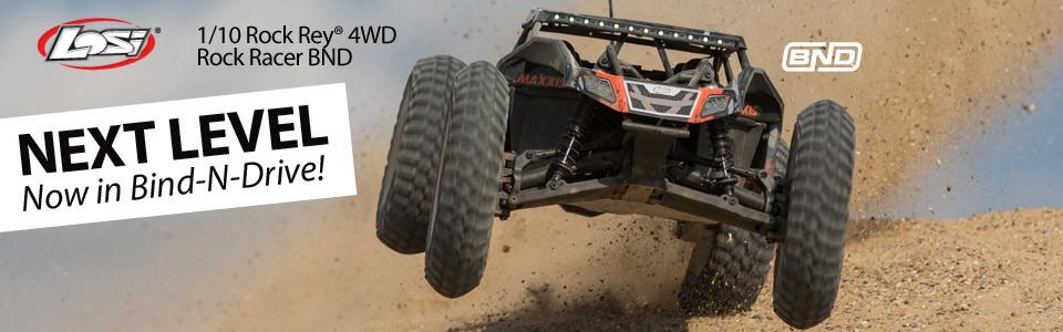 Losi Rock Rey BND 1/10 4WD Rock Racer