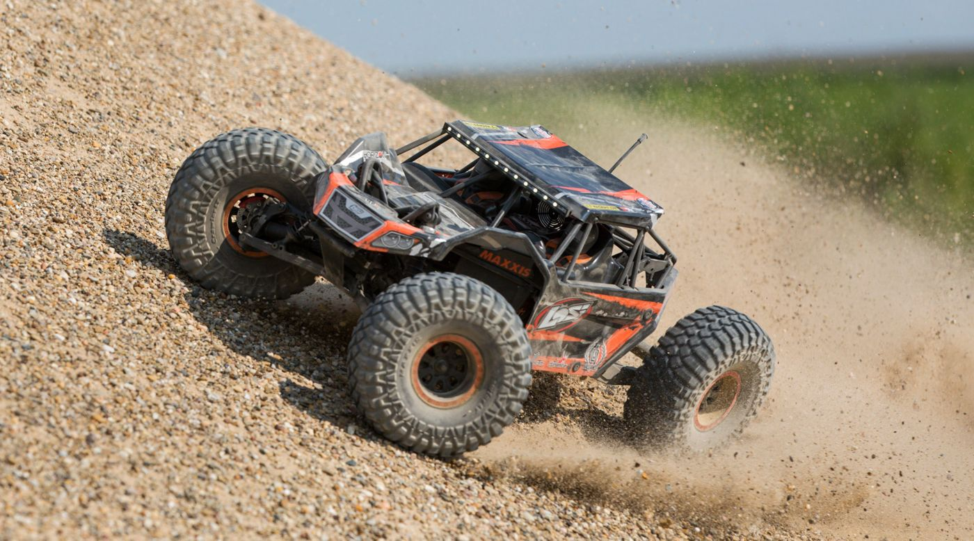 Image for 1/10 Rock Rey 4WD Rock Racer Brushless BND from HorizonHobby