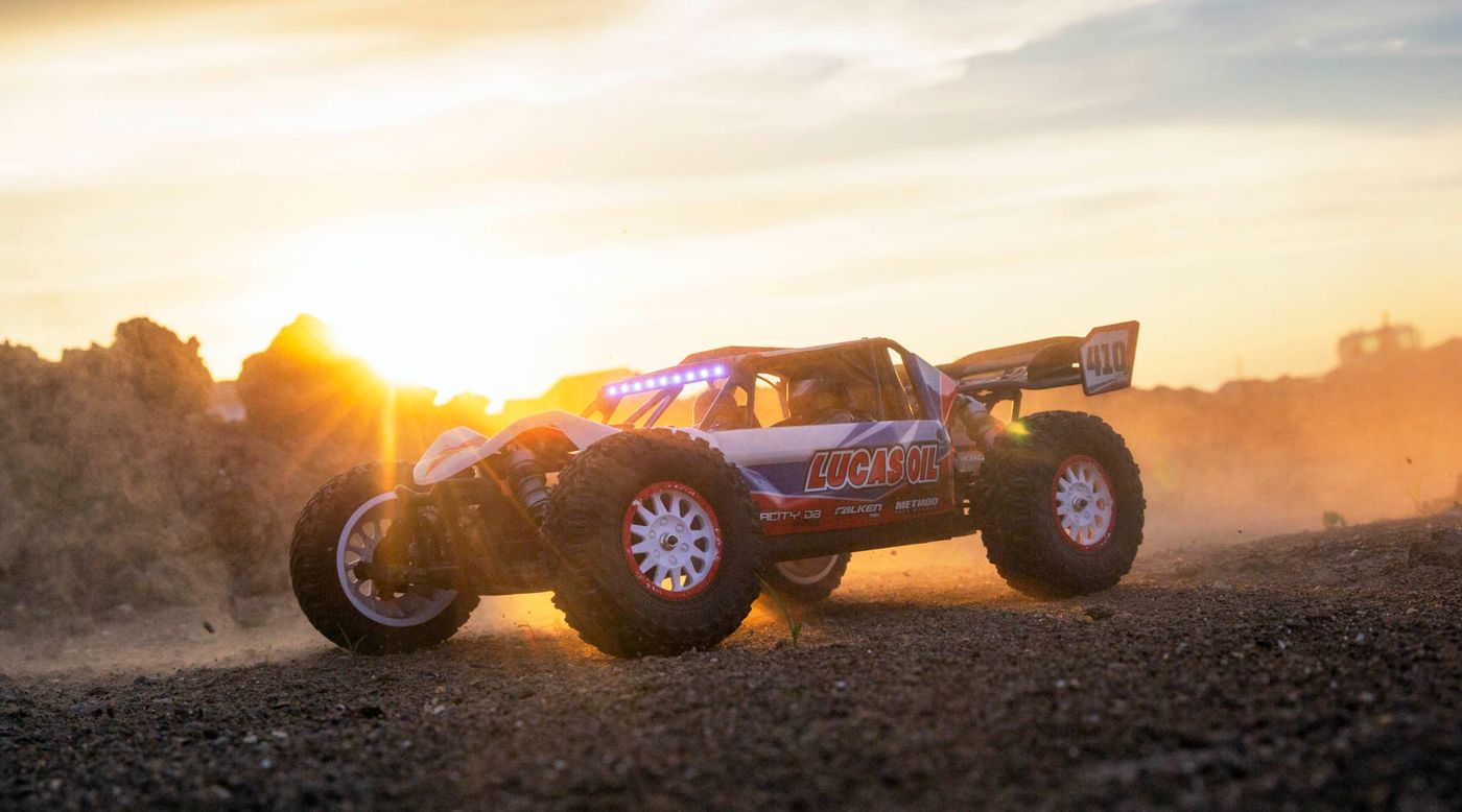 Image for 1/10 Tenacity DB Pro 4WD Desert Buggy Brushless RTR with Smart, Lucas Oil from Horizon Hobby