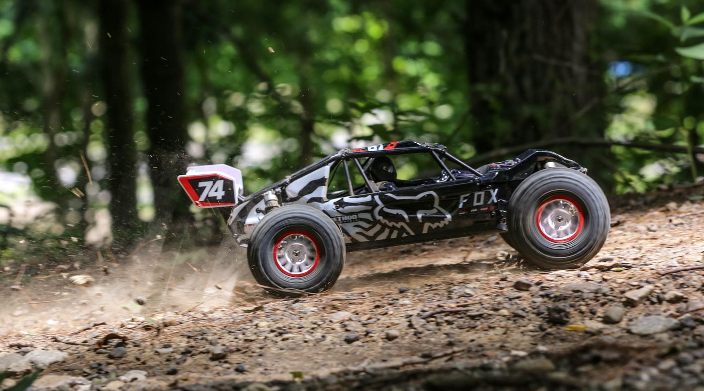 Grafik für 1/10 Tenacity DB Pro Smart 4WD Desert Buggy Brushless RTR, Fox Racing in Horizon Hobby