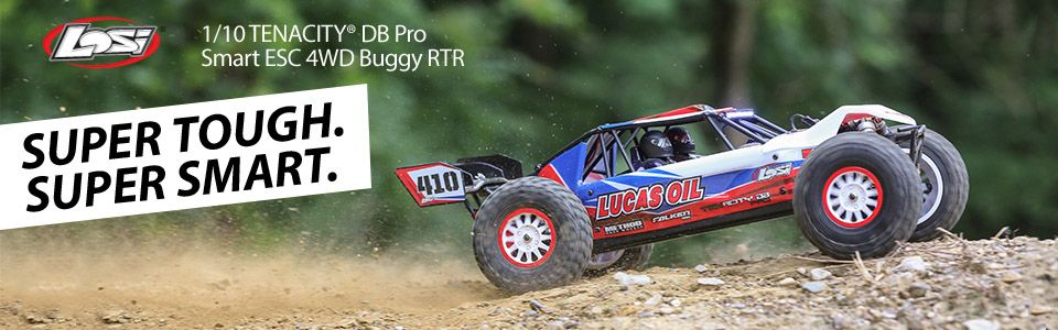 Tenacity DB Pro, RTR: 1/10 4WD Buggy