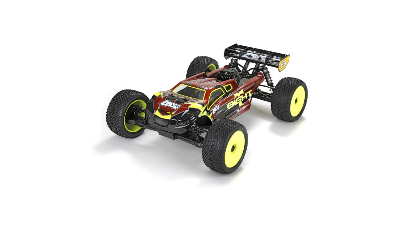 Image for 1/8 8IGHT-T 4WD Gas Truggy RTR with AVC Technology from HorizonHobby