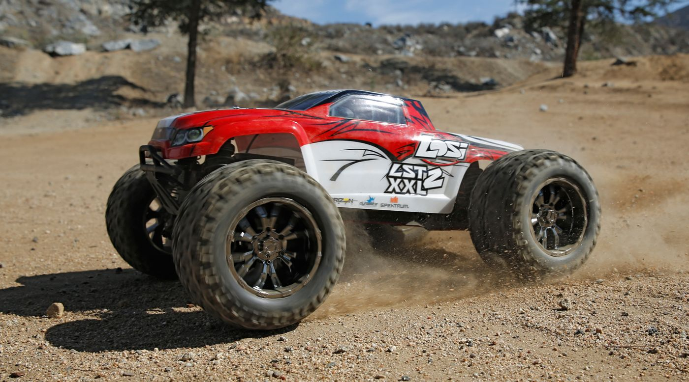 Image for 1/8 LST XXL- 2 4WD Gas Monster Truck RTR with AVC Technology from HorizonHobby