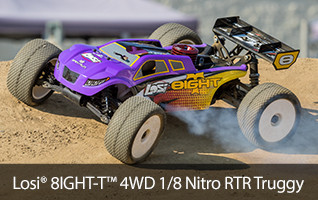 Losi 8IGHT-T Nitro Truggy RTR