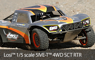 Losi 1/5 5IVE-T 4WD SCT Gas RTR with AVC