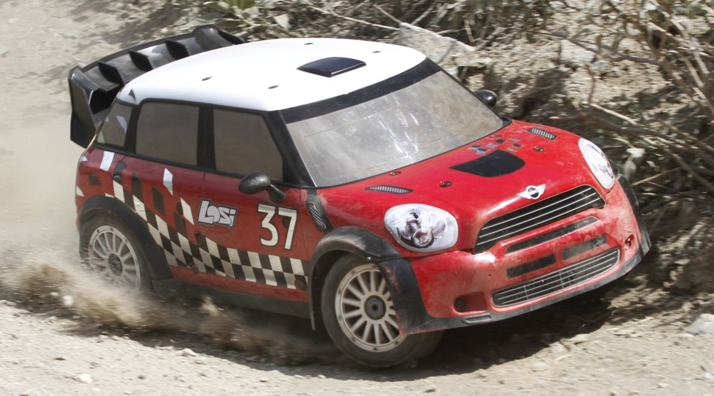 Image for 1/5 MINI WRC 4WD Rally Car RTR with AVC Technology from HorizonHobby