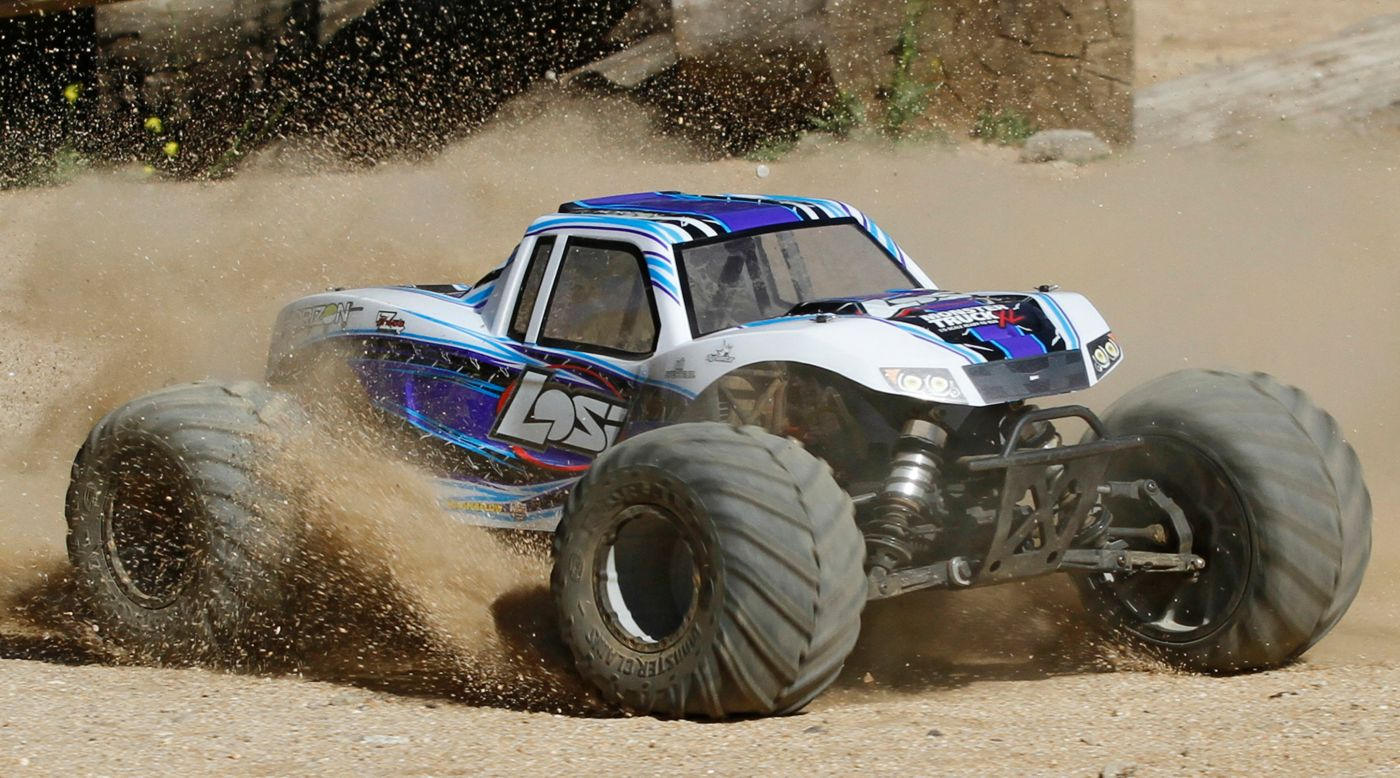 Image for 1/5 Monster Truck XL 4WD Gas RTR with AVC, White from Horizon Hobby