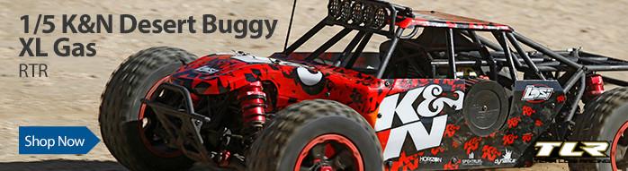 Losi 1/5 K&N DBXL Desert Buggy 4WD Gas RTR