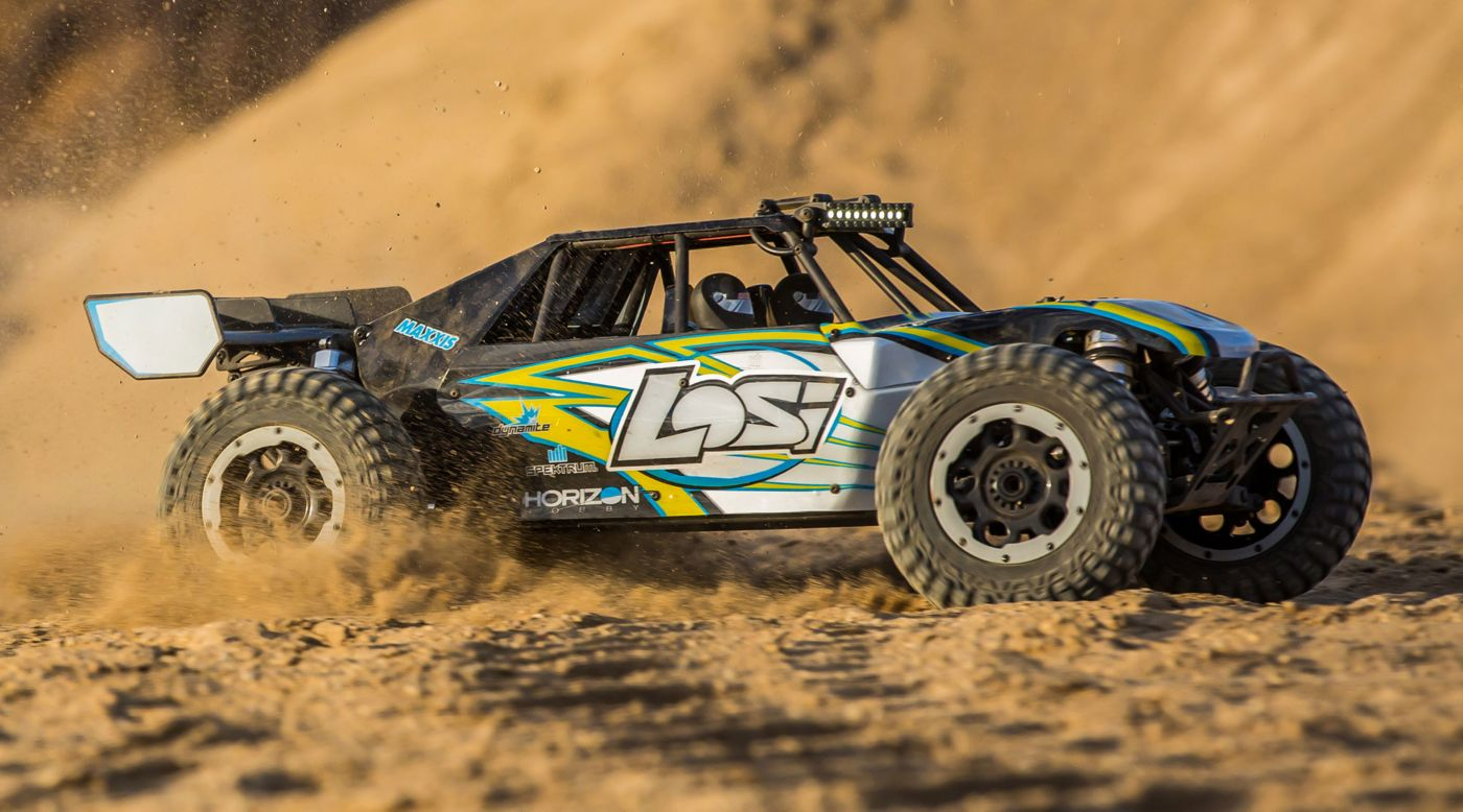 Grafik für Losi Desert Buggy XL-E: 1/5th 4wd Eletric RTR - schwarz in Horizon Hobby