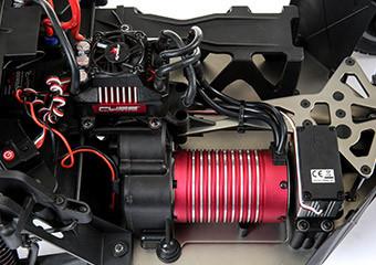 50+ MPH Dynamite Fuze 1/6th 1200Kv Brushless Motor and 160A ESC