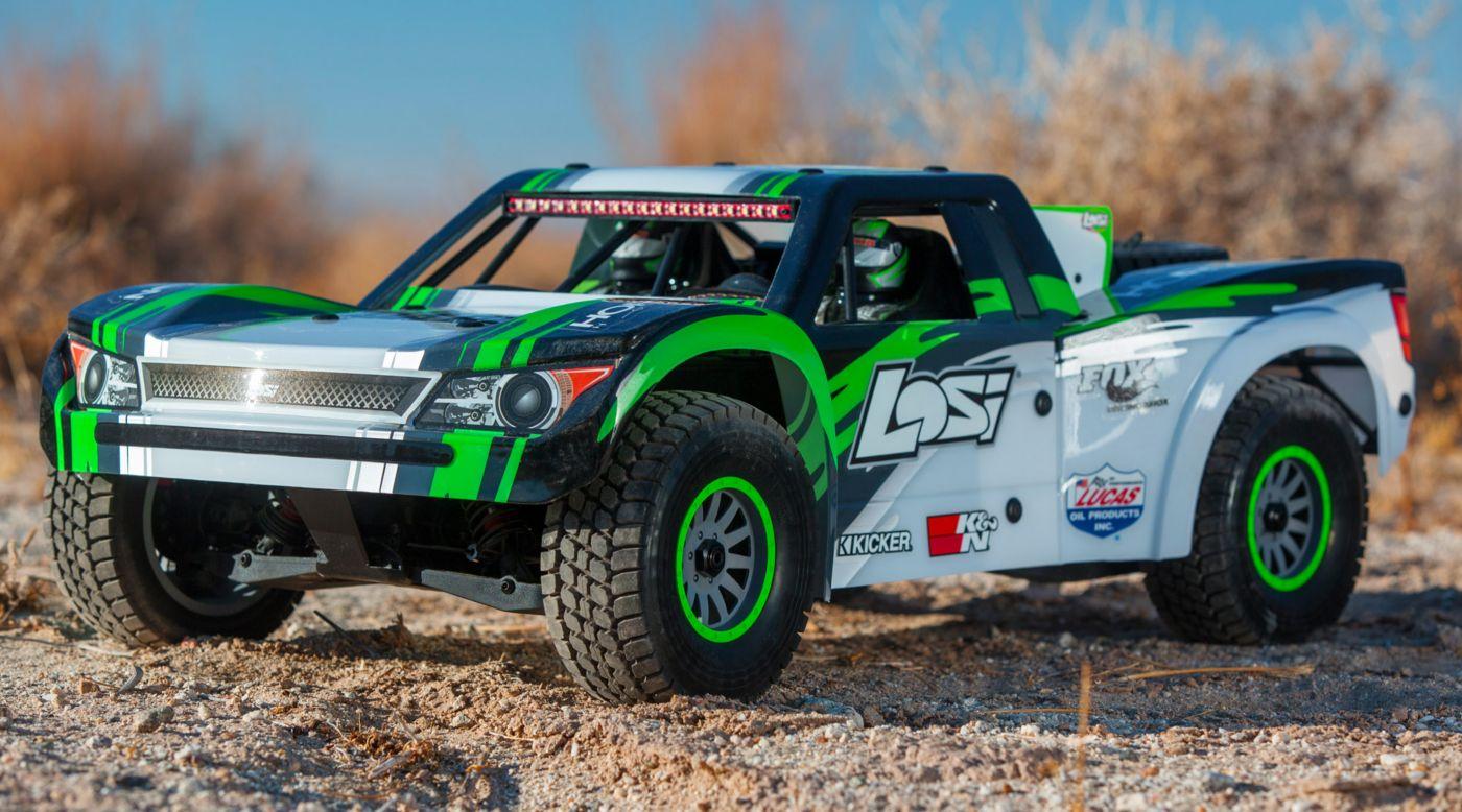 Losi 1 6 Super Baja Rey 4wd Desert Truck Brushless Rtr With Avc