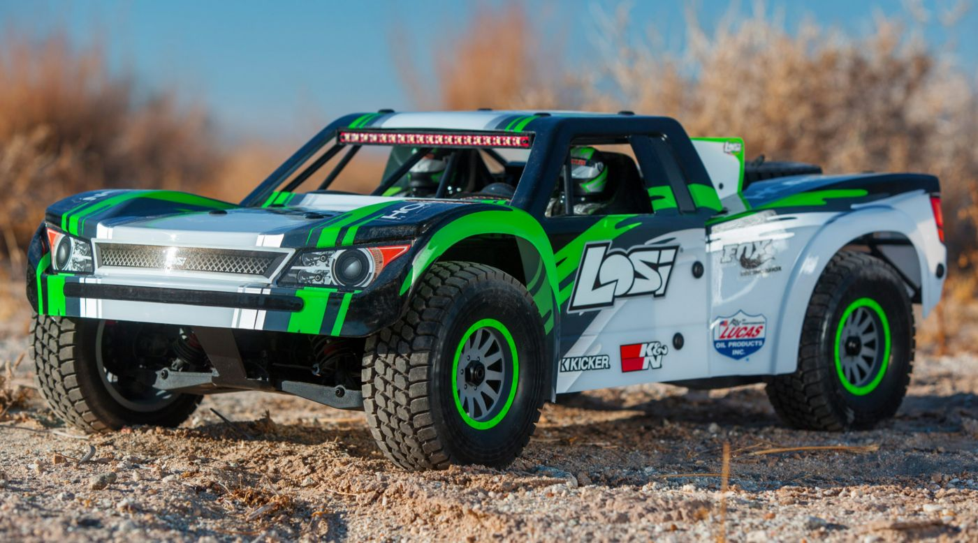 Image for 1/6 Super Baja Rey 4WD Desert Truck Brushless RTR with AVC, Black from HorizonHobby