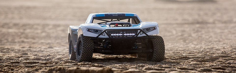Losi 1/5 5IVE-T 2 0 4WD SCT Gas BND, Grey/Blue/White
