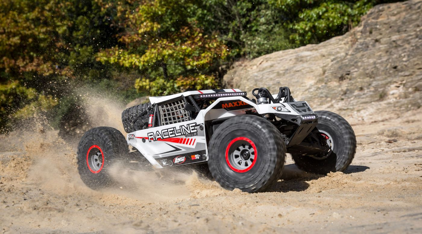 Image for 1/6 Super Rock Rey 4WD Brushless Rock Racer RTR with AVC, Raceline from Horizon Hobby