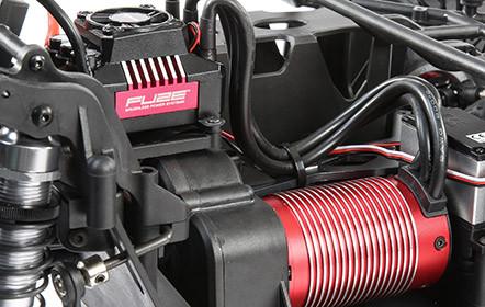 55+ MPH Dynamite Fuze 1/6th 750Kv Brushless Motor and 160A ESC