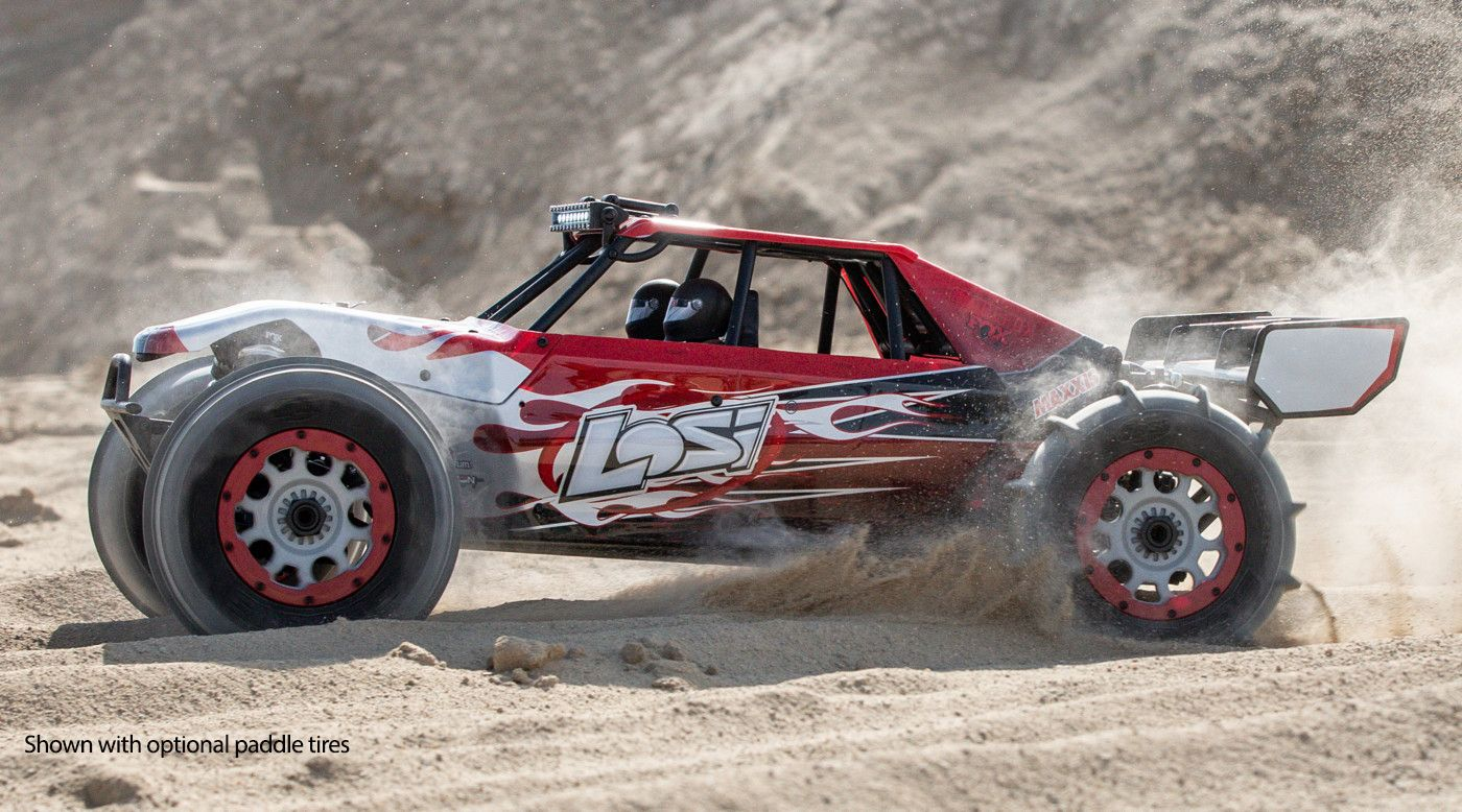 Image for 1/5 DBXL-E 2.0 4WD Desert Buggy Brushless RTR with Smart, Losi Body from Horizon Hobby