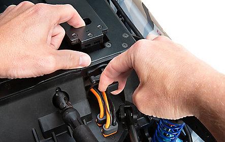 Bottom Loading Battery Tray