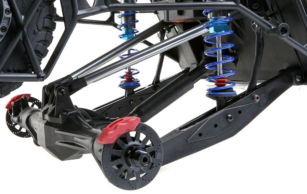 Long Travel 4-link Rear Axle