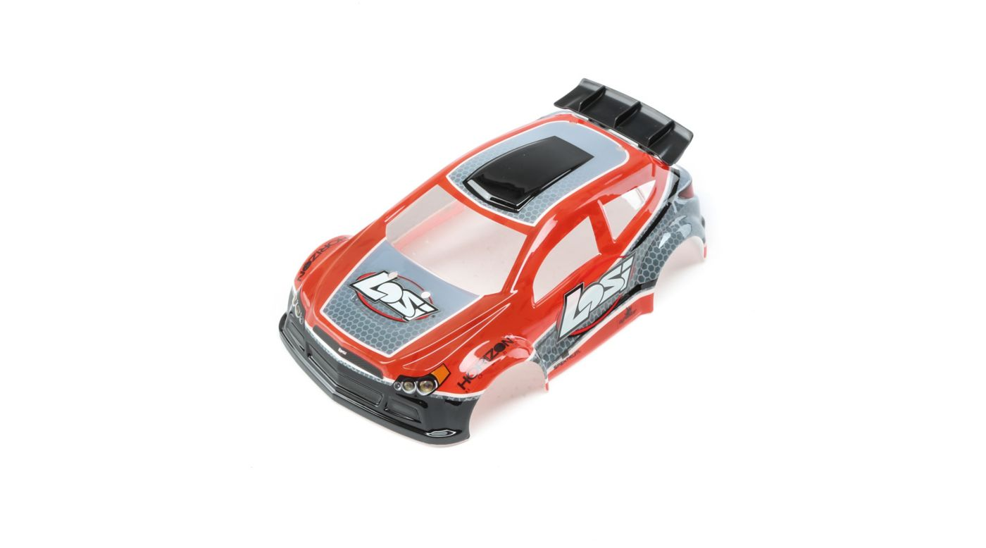 Image for 1/24 4WD Micro Rally X Painted Body Red from HorizonHobby