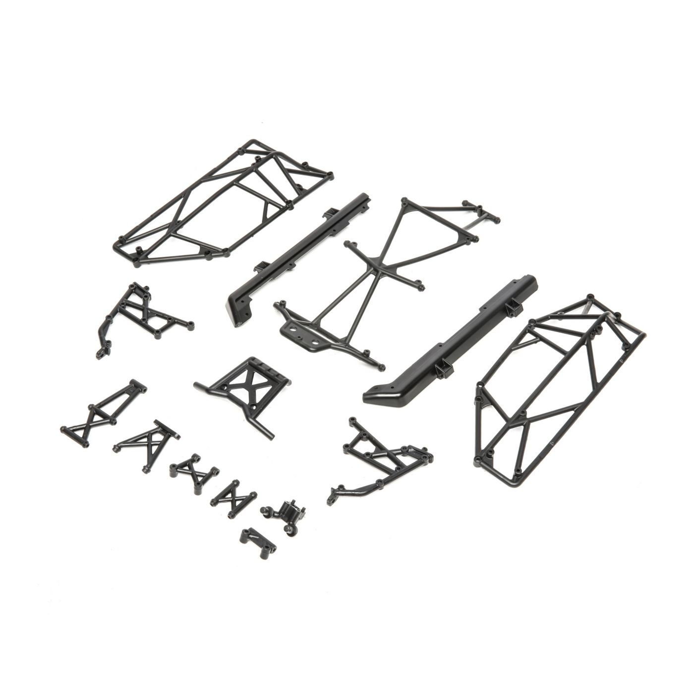 Roll Cage and Bumper Set: Mini 8IGHT-DB  (LOS211009)