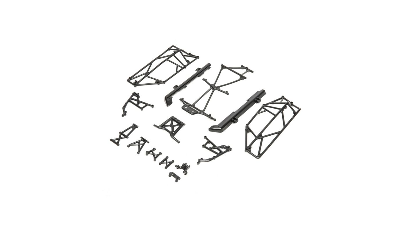 Image for Roll Cage and Bumper Set: Mini 8IGHT-DB from HorizonHobby