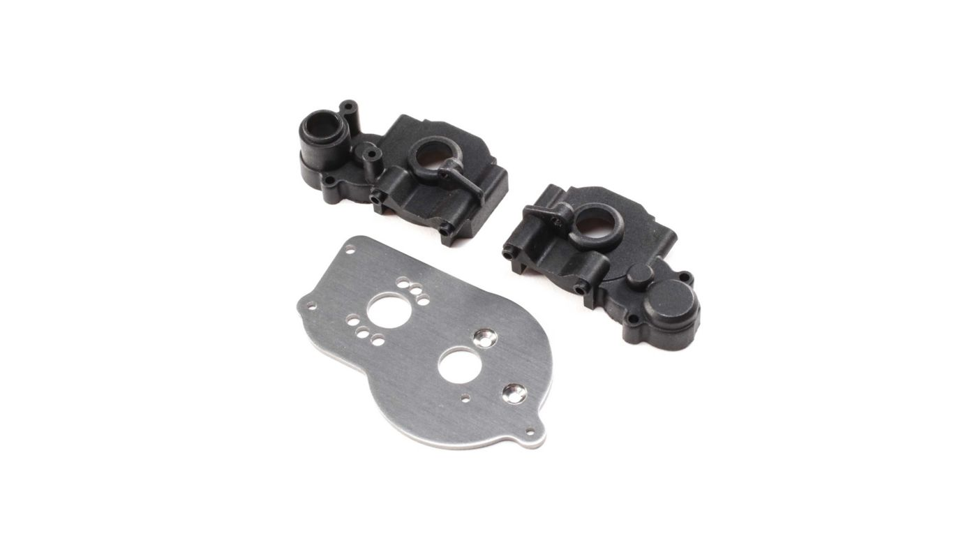 Image for Transmission Case & Motor Plate: Mini-T 2.0 from HorizonHobby