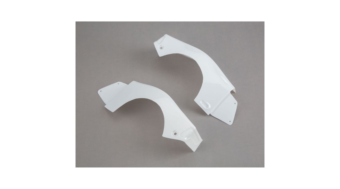 Image for 1/10 Left and Right Rear Fender Set, White: Baja Rey from HorizonHobby