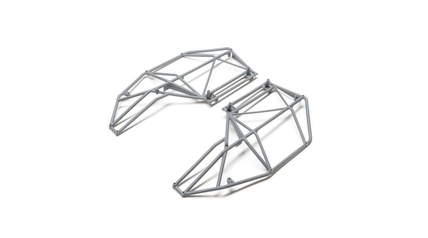 Image for Roll Cage Side Left and Right, Gray: Rock Rey from HorizonHobby