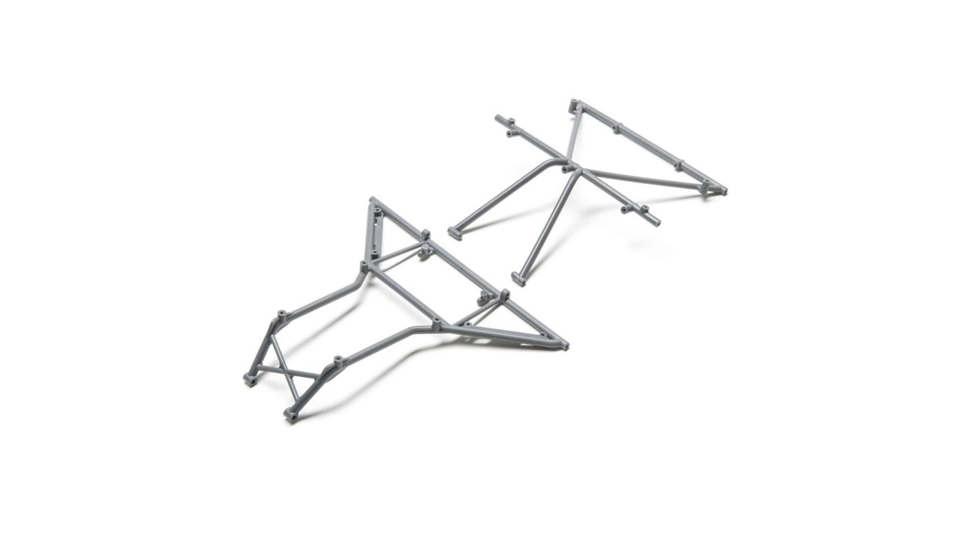 Image for Roll Cage, Roof Front, Gray: Rock Rey from HorizonHobby