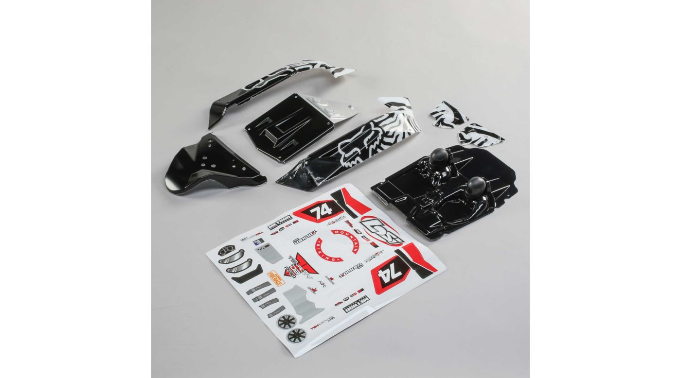 Image for Body Set, Fox Racing: Tenacity DB Pro from HorizonHobby