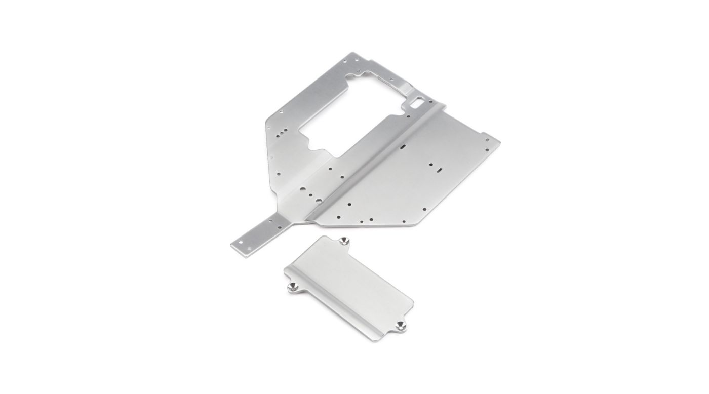 Image for Chassis Plate and Motor Cover Plate: Baja Rey from Horizon Hobby