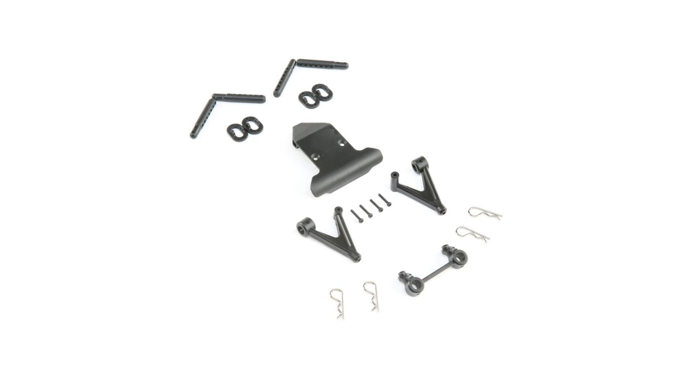Image for Front Bumper & Body Mount Set: 22S ST from HorizonHobby