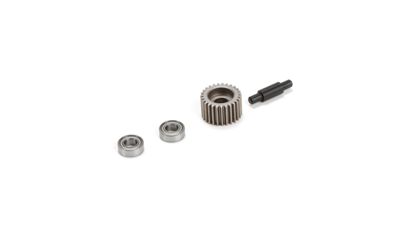 Image for Metal Idler Gear, Shaft, Bearings: XXX-SCT/SCB from HorizonHobby
