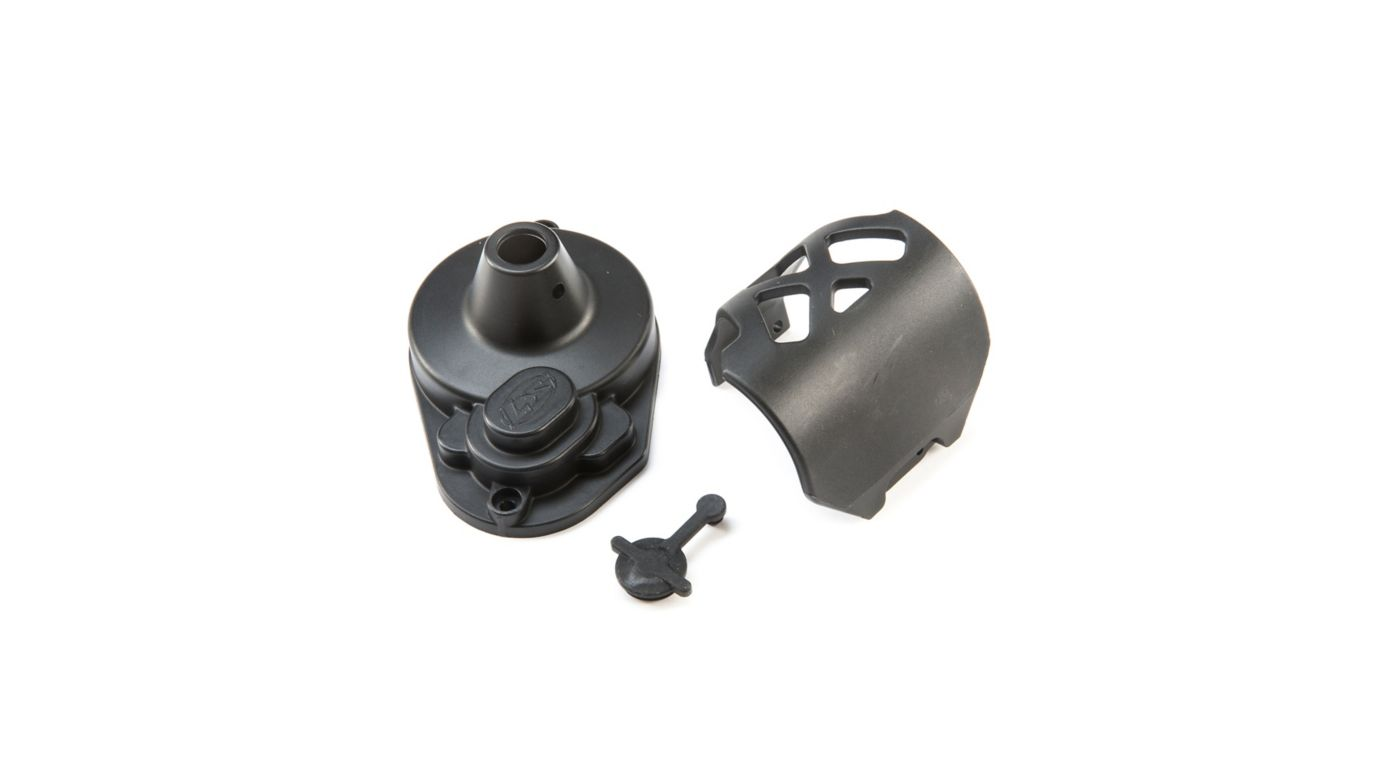 Image for Gear Cover & Motor Guard: 22S from HorizonHobby