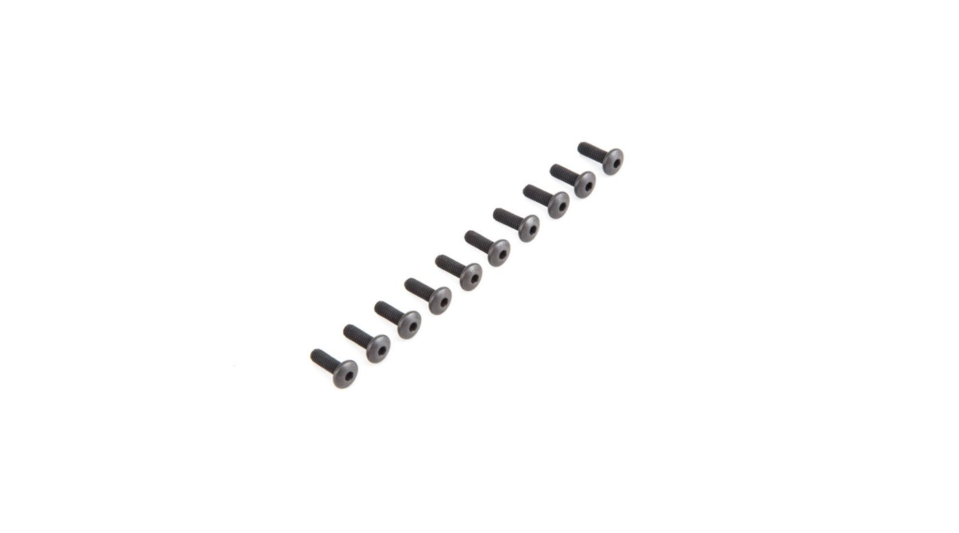 Image for Button Head Screws M4 x 12mm (10) from Horizon Hobby