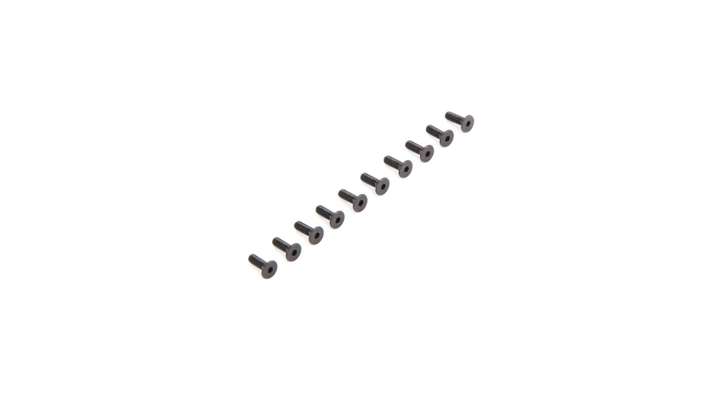 Image for Flat Head Screws M2.5 x 8mm (10) from Horizon Hobby