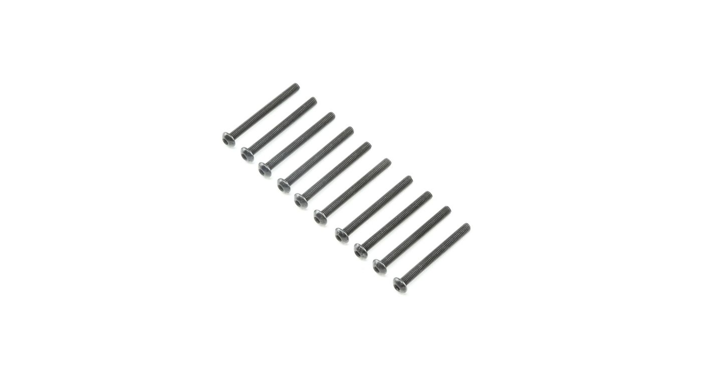 Image for Button Head Screws M3x30mm (10) from HorizonHobby
