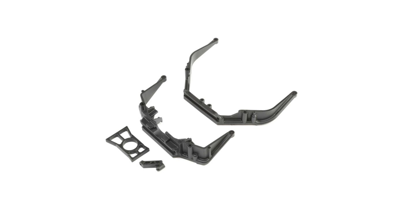 Image for Front/Rear Chassis Brace Set and Diff Retainer Ring: LST 3XL-E from HorizonHobby