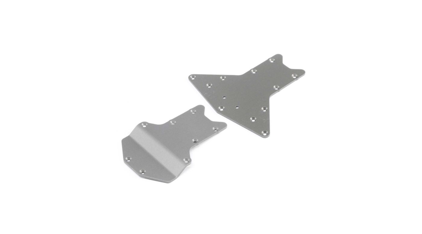 Image for Skid Plate Set Front Rear: LST 3XL-E from HorizonHobby