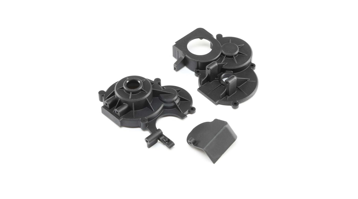 Image for Transmission Case Set and Gear Cover: LST 3XL-E from HorizonHobby