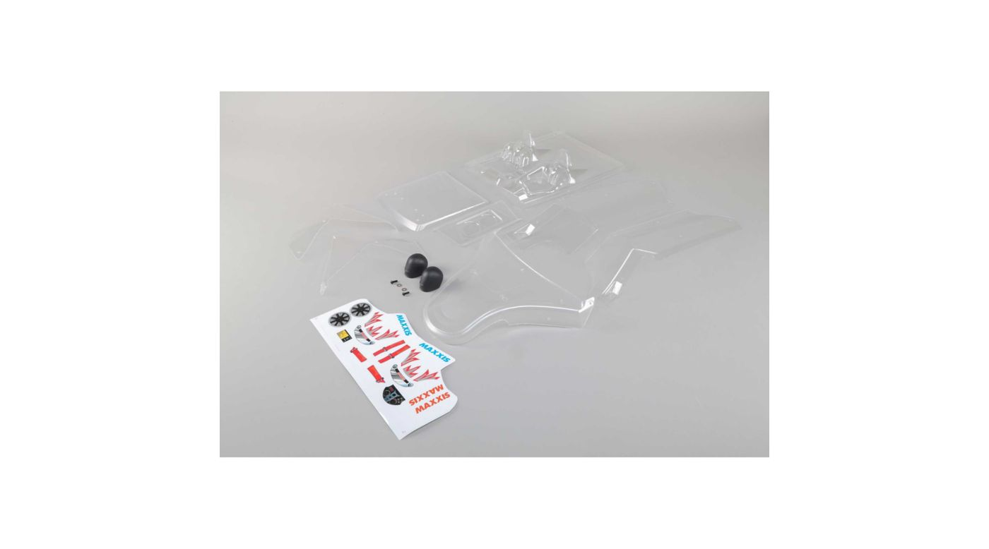 Grafik für Losi Body Set m. Aufklberbogen, transparent : DBXL-E in Horizon Hobby
