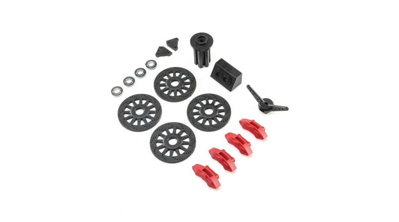 Image for Brake and Spare Tire Accessory Set: Super Baja Rey from HorizonHobby