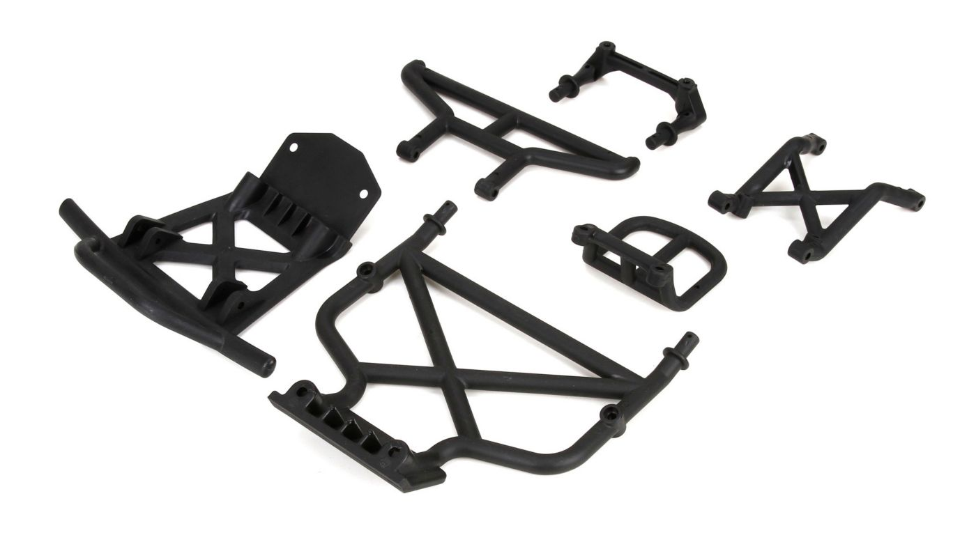 Image for Front/Rear Bumper & Bumper Brace: 1/5 DB XL from HorizonHobby