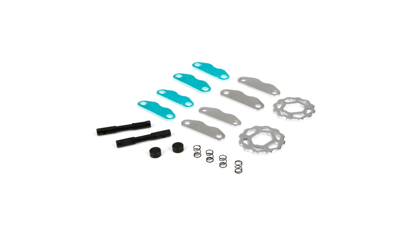 Image for Brake Pads/Springs/Cam/Discs: 1/5 DB XL from HorizonHobby