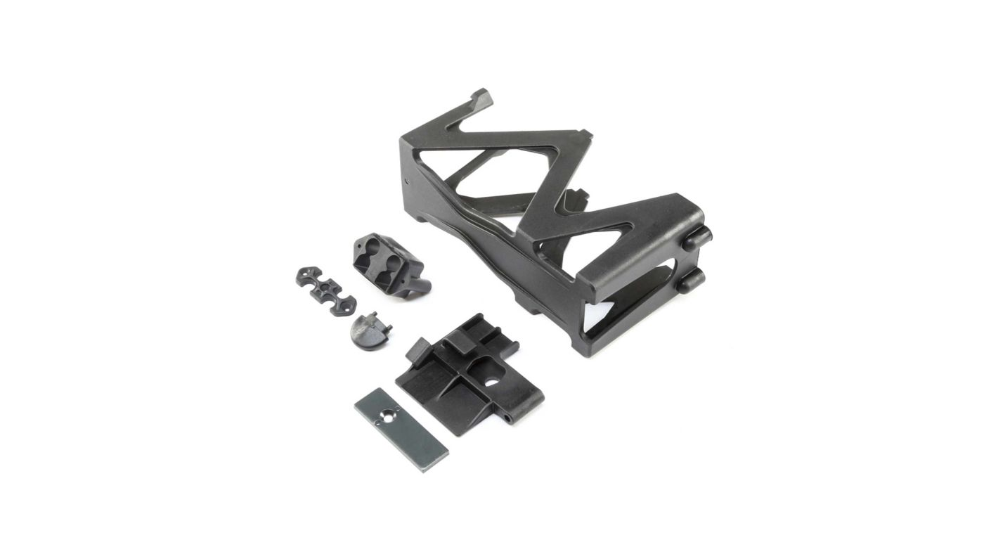 Image for Battery Tray, Door, Lock, EC5 Base Set: Super Baja Rey from HorizonHobby