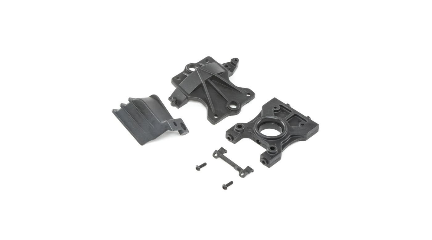 Image for Center Diff Standoff TopPlate & Gear Cover  DBXL-E from HorizonHobby