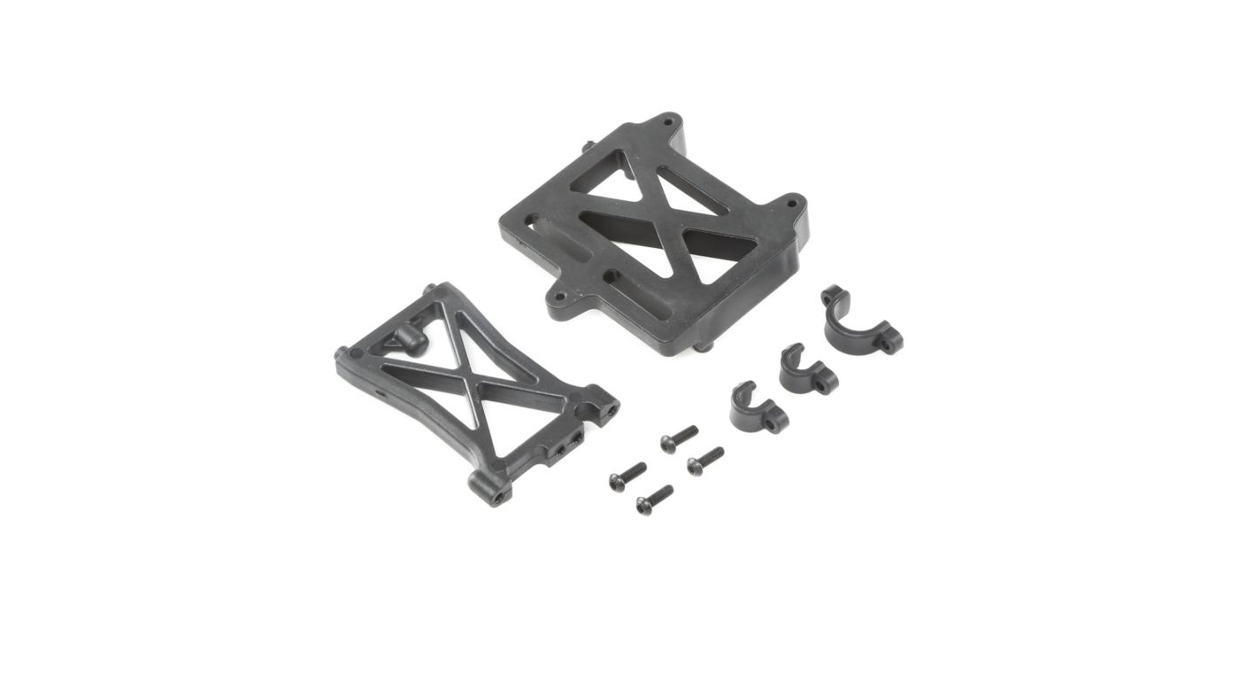 Image for ESC Mount Plate Standoff & Clamps  DBXL-E from HorizonHobby