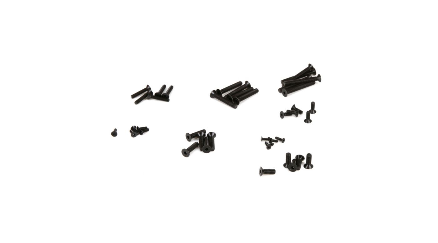 Image for Flat Head Screw, Set (30): 1/5 DB XL from HorizonHobby