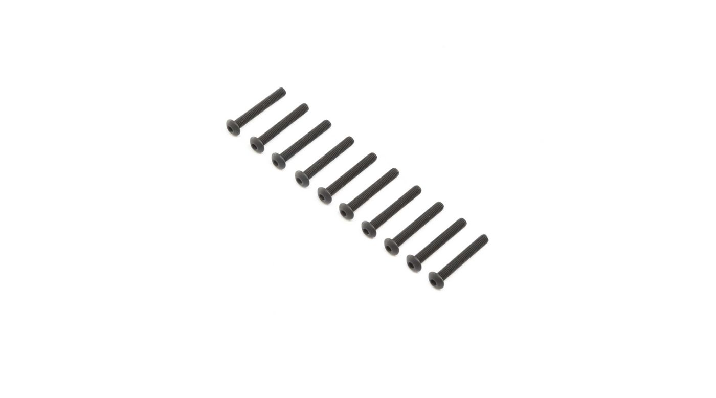 Grafik für Button Head Screws, Stl, BO, M4 x 30mm (10) in Horizon Hobby