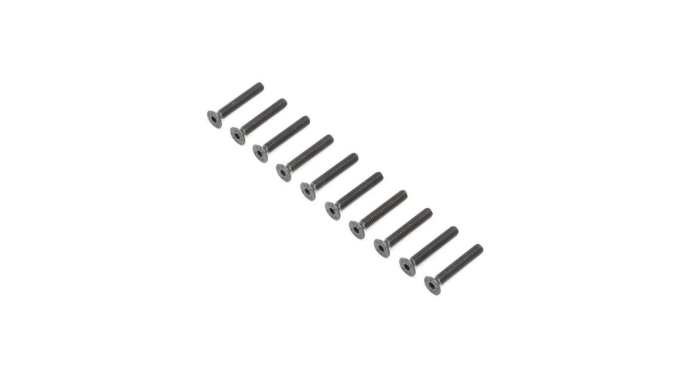 Grafik für Flat Head Screws, Stl, BO, M4 x 25mm (10) in Horizon Hobby